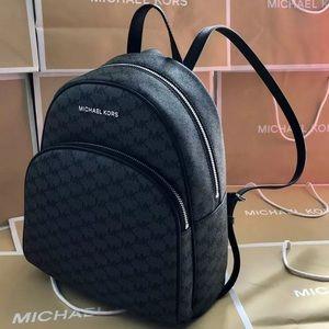 $298 Michael Kors Abbey Backpack MK Handbag Bag